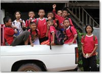 再び!Baan Kum小学校の子供たち